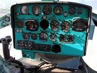 Ми-2. Приборная панель