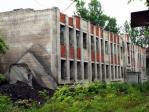 Недостроенное здание.