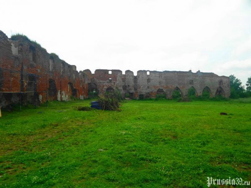 замок, Бранденбург, Калининград, Восточная Пруссия